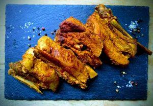 Vleeskrabbetjes op Indische wijze