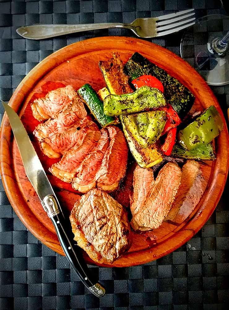 Surf & durf (picanha-steak)