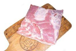 Halve varkensbuik zonder been, met zwoerd (ca. 3,0 kg; vers)